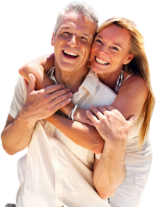 Older Couple Relaxing on Holidays with Insure My Travel