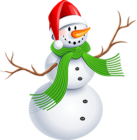 Snowman on Holidays with Insure My Travel